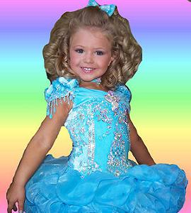Toddler Natural Beauty Pageant Dresses